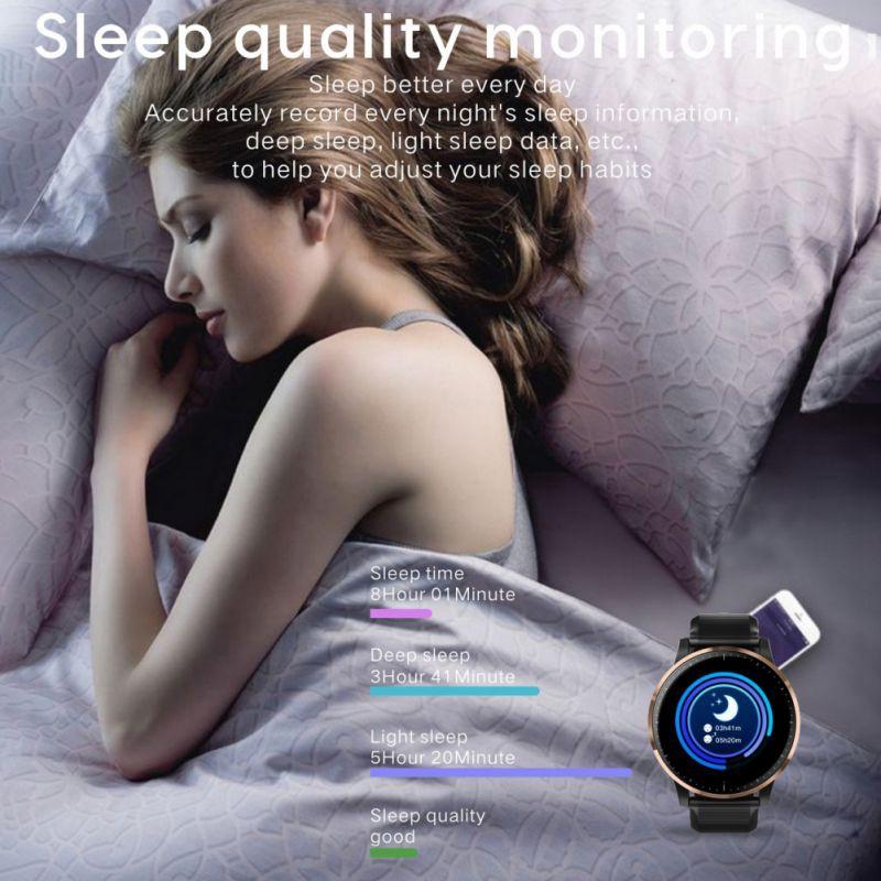 Pulsera-Inteligente-Despertador-de-Monitor-de-Calidad-Del-SuenO-de-M2Y6 miniatura 8
