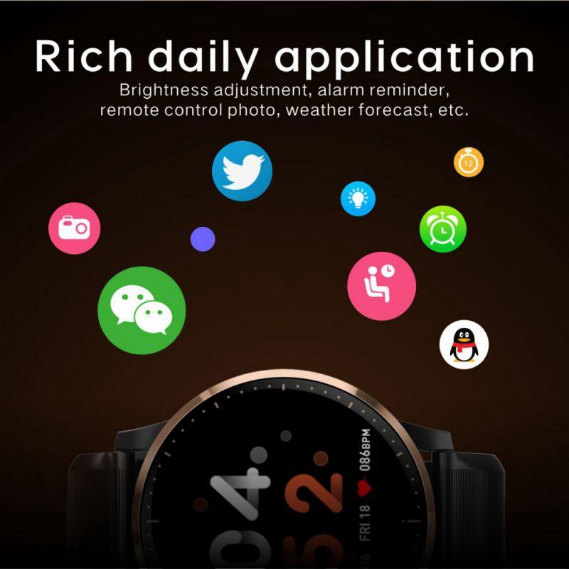 Smart-Armband-Fitness-Tracker-Herzfrequenz-Blutdruck-SchlafqualitaeT-Monitor-A6U3 Indexbild 13