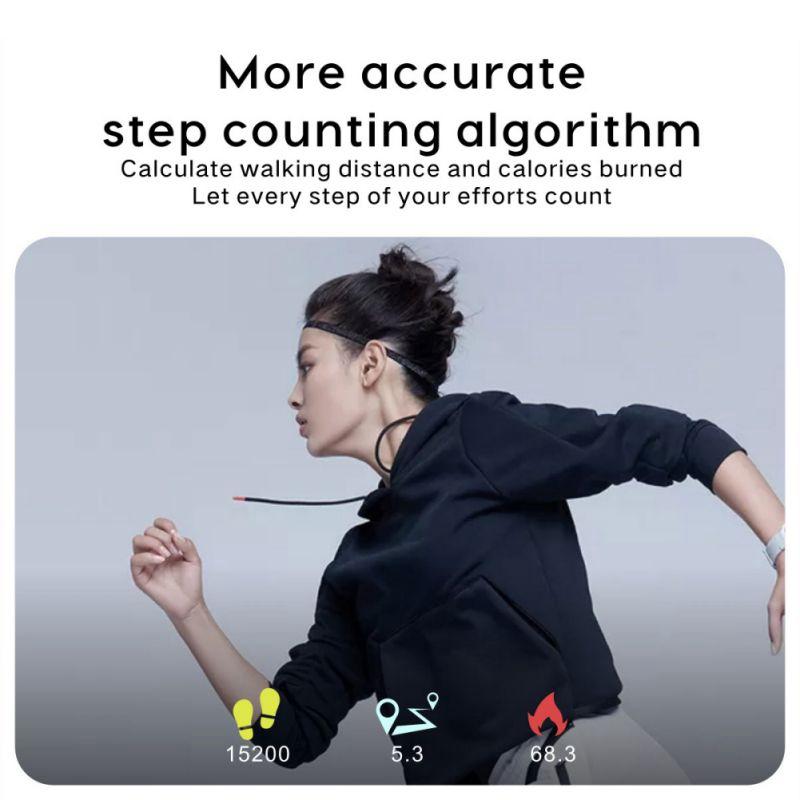 Smart-Armband-Fitness-Tracker-Herzfrequenz-Blutdruck-SchlafqualitaeT-Monitor-A6U3 Indexbild 14