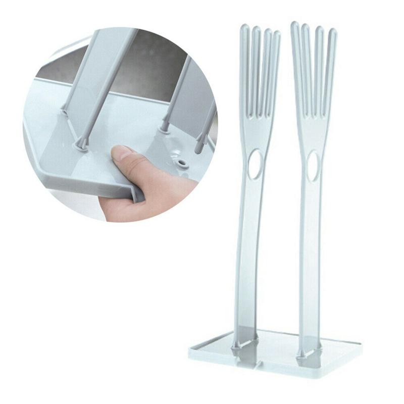 Support-de-Rangement-en-Tissu-ABS-de-Support-de-Gants-en-Caoutchouc-pour-la-J9Y9 miniature 7