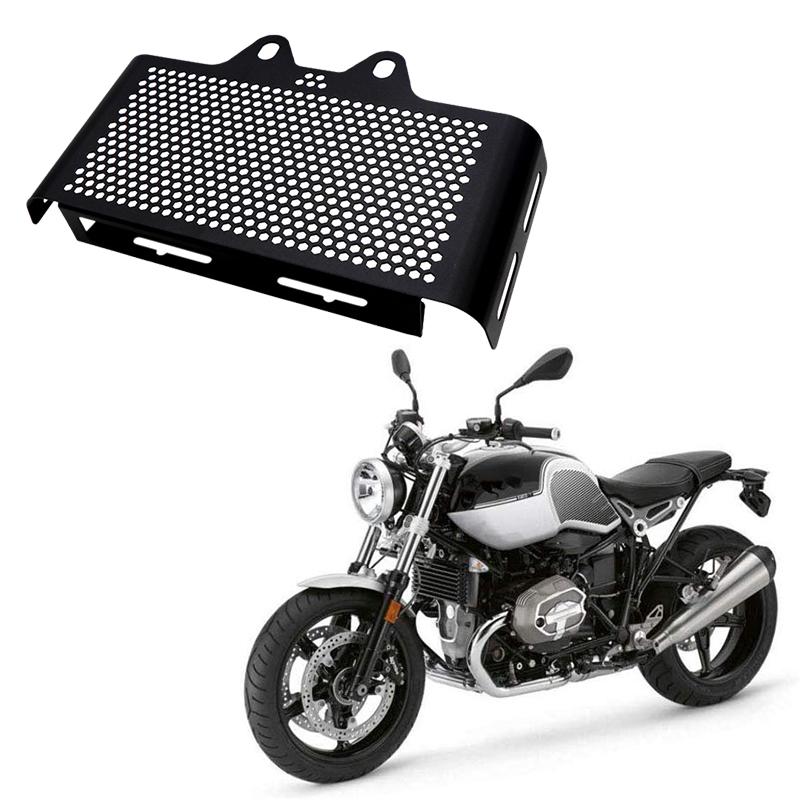 Moto-Noir-Grill-Couverture-de-Radiateur-Grille-de-Protection-pour-BMW-R-Nin-E3Z0 miniature 2