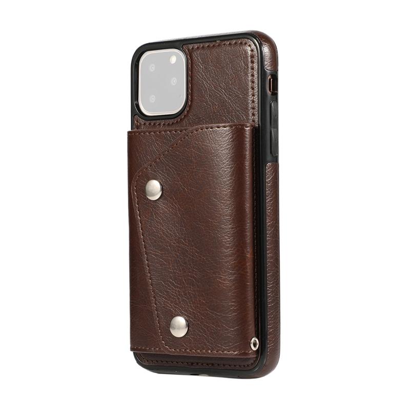1X-pour-Iphone-11-Pro-Portefeuille-Pochette-en-Cuir-Fente-pour-Carte-de-Cre-P8H6 miniature 9