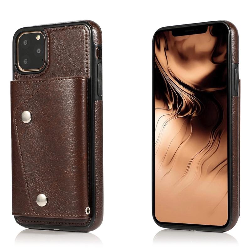1X-pour-Iphone-11-Pro-Portefeuille-Pochette-en-Cuir-Fente-pour-Carte-de-Cre-P8H6 miniature 11