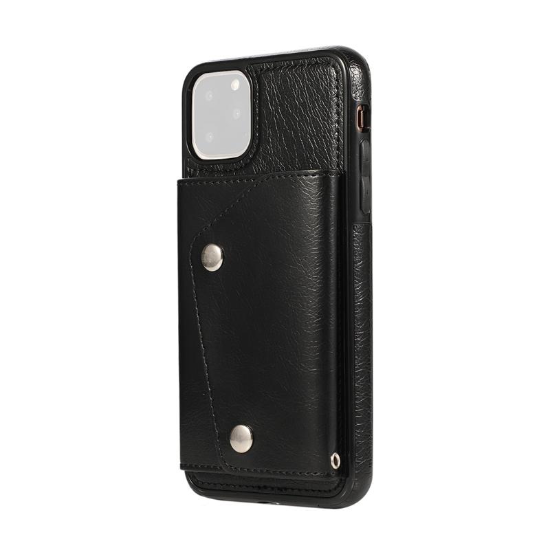1X-pour-Iphone-11-Pro-Portefeuille-Pochette-en-Cuir-Fente-pour-Carte-de-Cre-P8H6 miniature 19