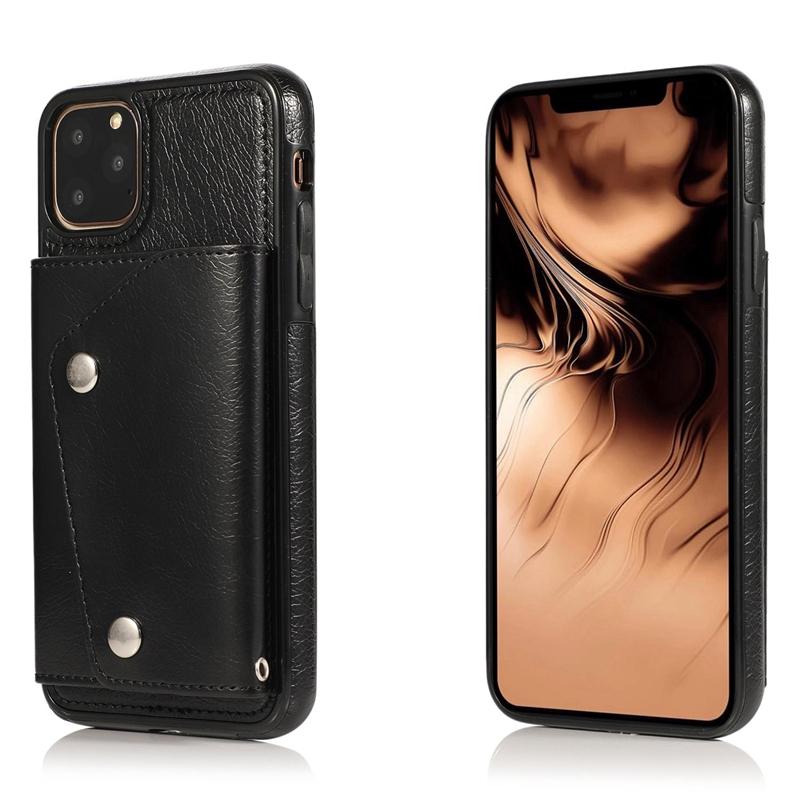 1X-pour-Iphone-11-Pro-Portefeuille-Pochette-en-Cuir-Fente-pour-Carte-de-Cre-P8H6 miniature 21
