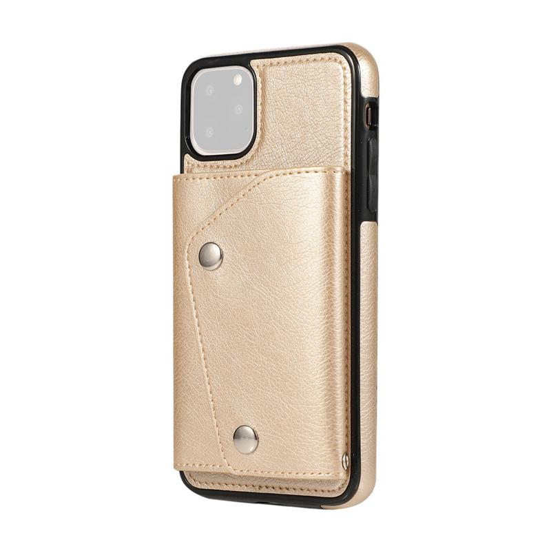 1X-pour-Iphone-11-Pro-Portefeuille-Pochette-en-Cuir-Fente-pour-Carte-de-Cre-P8H6 miniature 28
