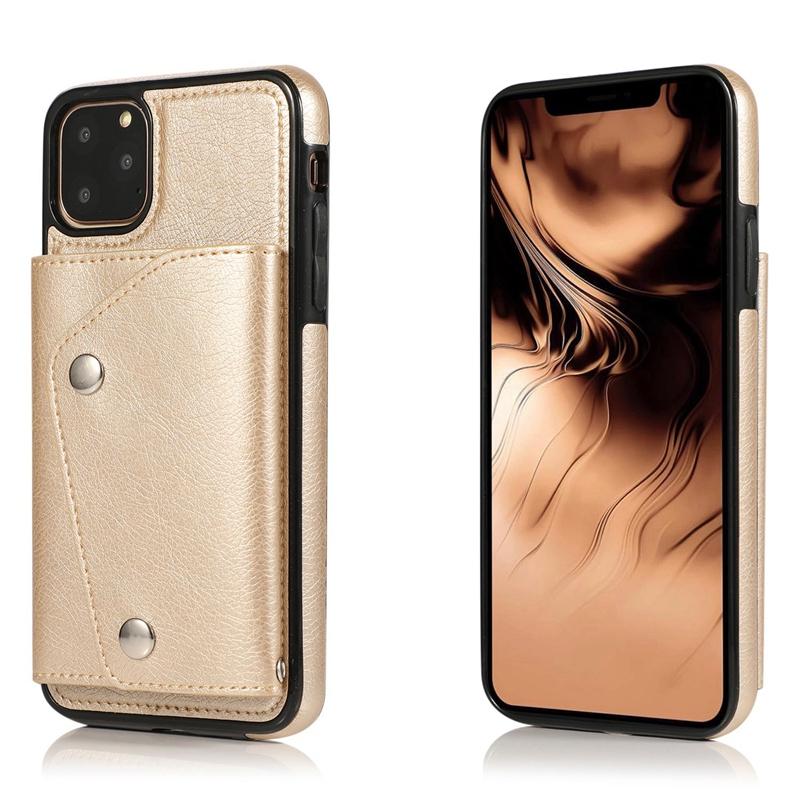 1X-pour-Iphone-11-Pro-Portefeuille-Pochette-en-Cuir-Fente-pour-Carte-de-Cre-P8H6 miniature 31