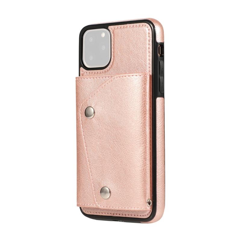 1X-pour-Iphone-11-Pro-Portefeuille-Pochette-en-Cuir-Fente-pour-Carte-de-Cre-P8H6 miniature 38