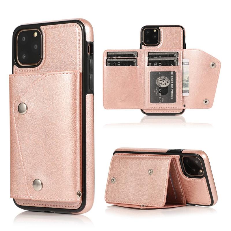 1X-pour-Iphone-11-Pro-Portefeuille-Pochette-en-Cuir-Fente-pour-Carte-de-Cre-P8H6 miniature 40