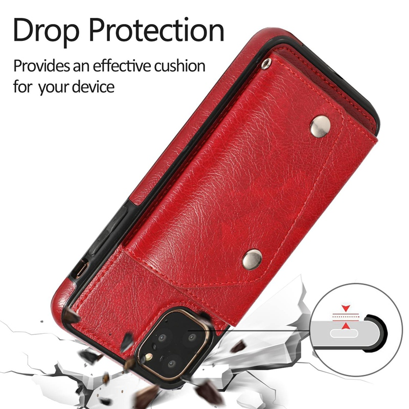 1X-pour-Iphone-11-Pro-Portefeuille-Pochette-en-Cuir-Fente-pour-Carte-de-Cre-P8H6 miniature 44