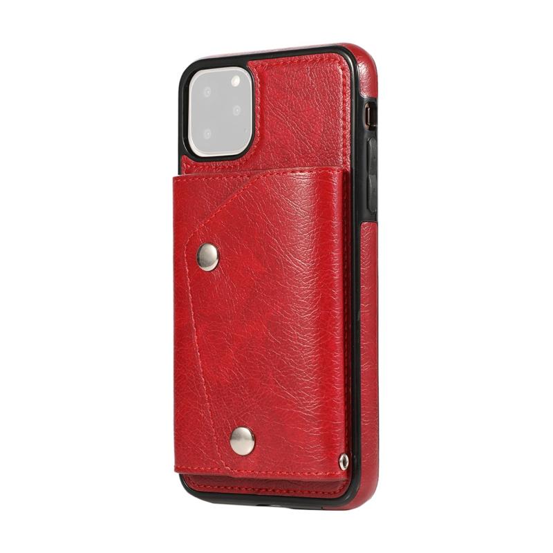 1X-pour-Iphone-11-Pro-Portefeuille-Pochette-en-Cuir-Fente-pour-Carte-de-Cre-P8H6 miniature 47