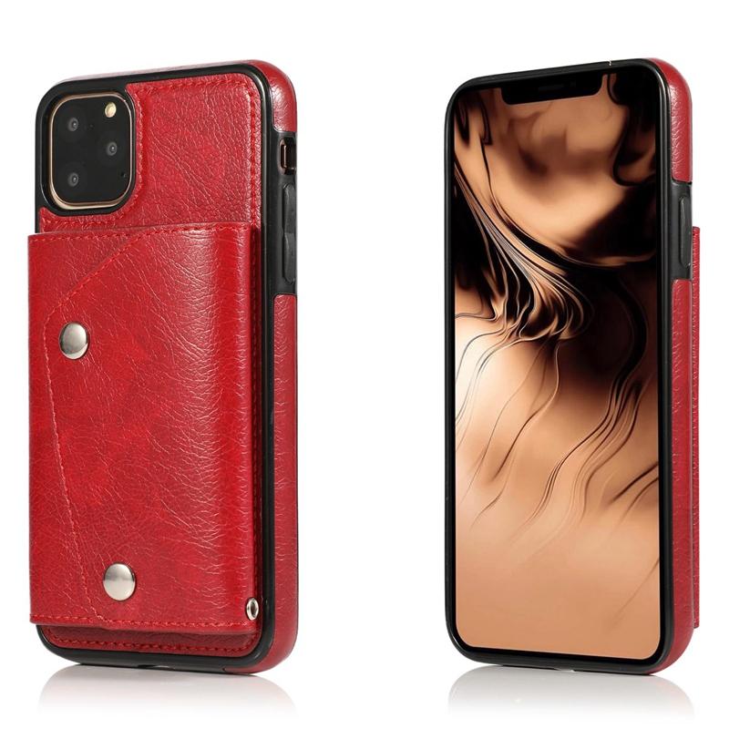 1X-pour-Iphone-11-Pro-Portefeuille-Pochette-en-Cuir-Fente-pour-Carte-de-Cre-P8H6 miniature 50