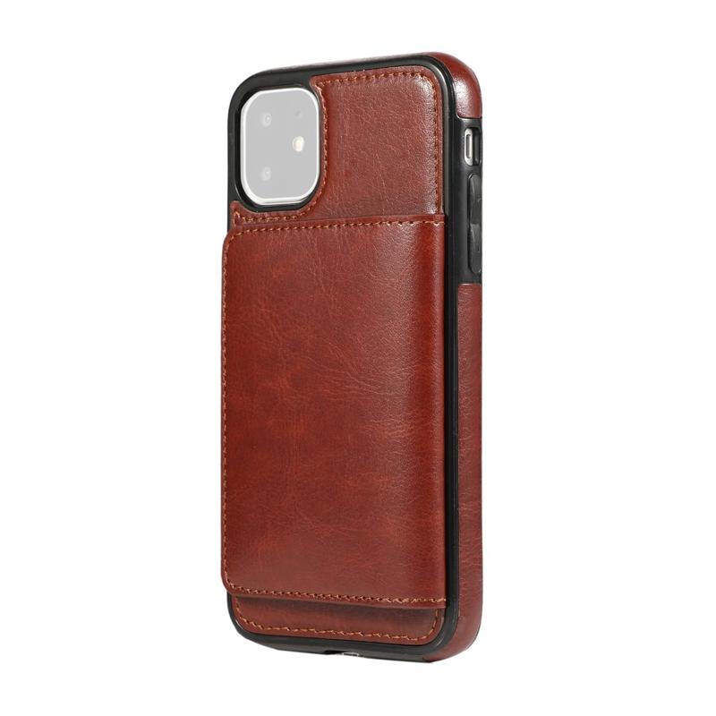 Indexbild 13 - fuer-Iphone-11-Pro-Leder-Tasche-Leder-Tasche-GeldboeRse-Karten-Steck-Platz-St-U6K5