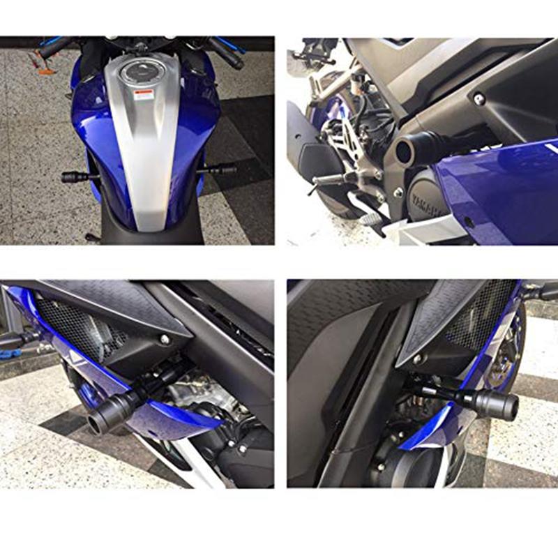 Motorrad-Verkleidungs-Schutz-Absturz-Sicherung-Sturz-Pad-Rahmen-Schiebe-Reg-C9C6 Indexbild 4