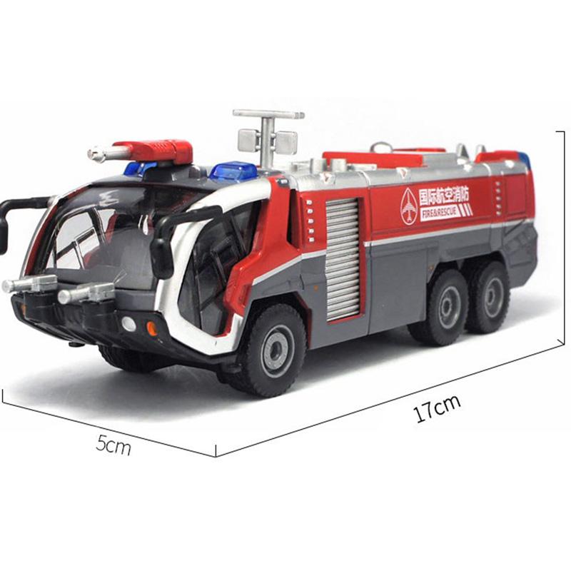 Detalles de VehíCulos de IngenieríA de AleacióN 1:50, CamióN de Bomberos de Alta Simula F3Y3