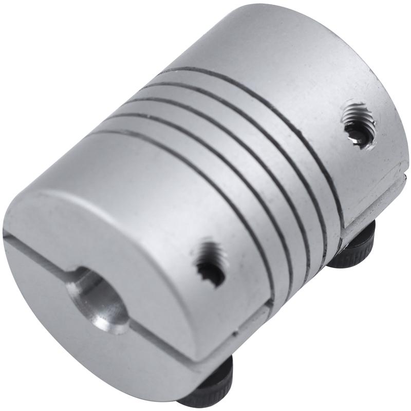 3X CNC Motor Wellenkupplung 6.35mm bis 8mm Flexibel Kupplung 6.35x8mm W5R1 N1