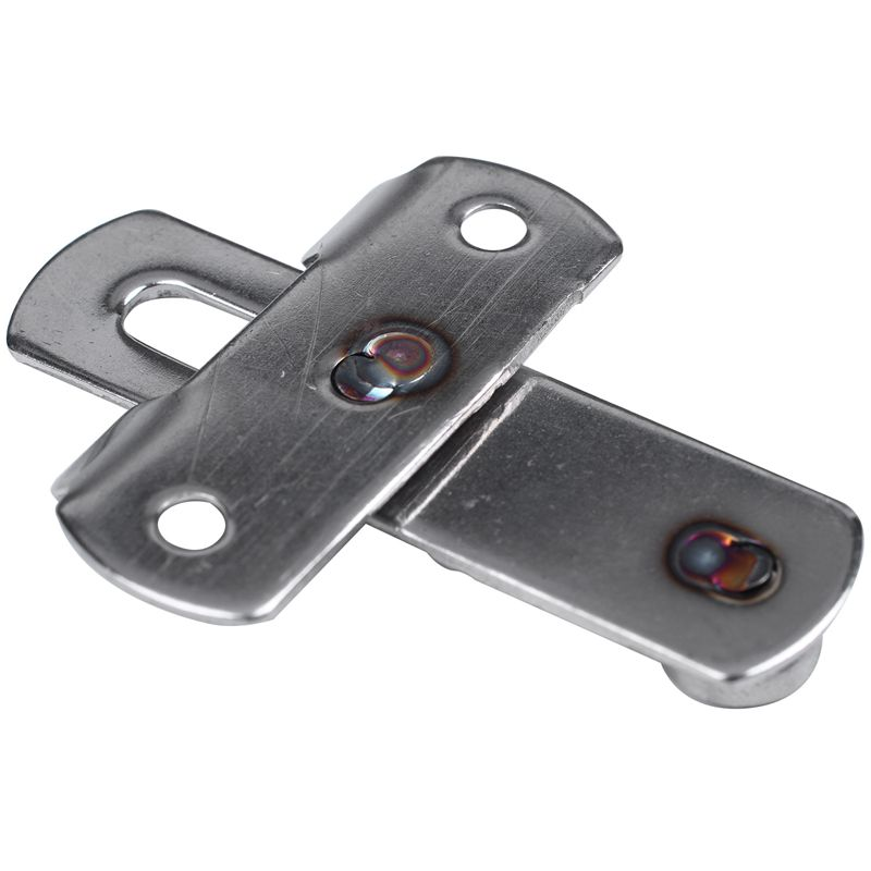 """Cabinet Closet Stainless Steel Door Latch Catch 3/"""" Long AD"""