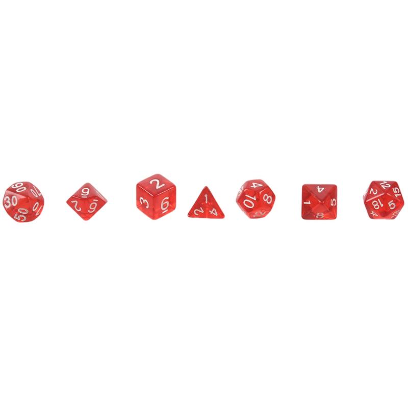 7-Des-D4-D6-D8-D10-D12-D20-MTG-Rassemblement-de-magie-D-K7D8 miniature 5