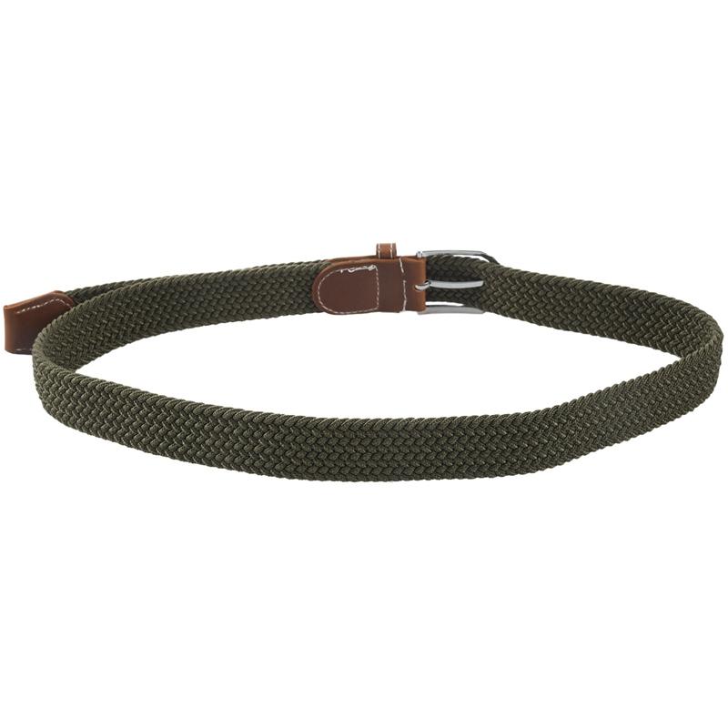 2X-Man-Woman-Leather-Belts-Canvas-Belt-Buckle-Elastic-Waistband-Belt-Navy-Z2P7 Indexbild 15