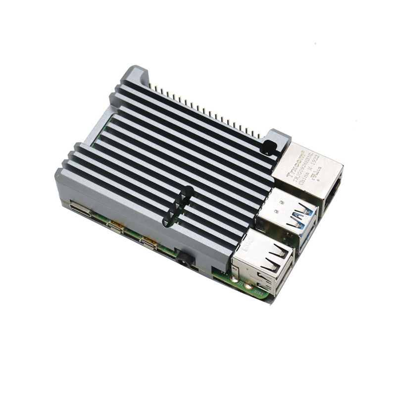 FueR-Raspberry-Pi-4-Modell-B-4-GB-RAM-UnterstueTzung-2-4-5-0-GHz-WIFI-Bluet-W6P6 Indexbild 4