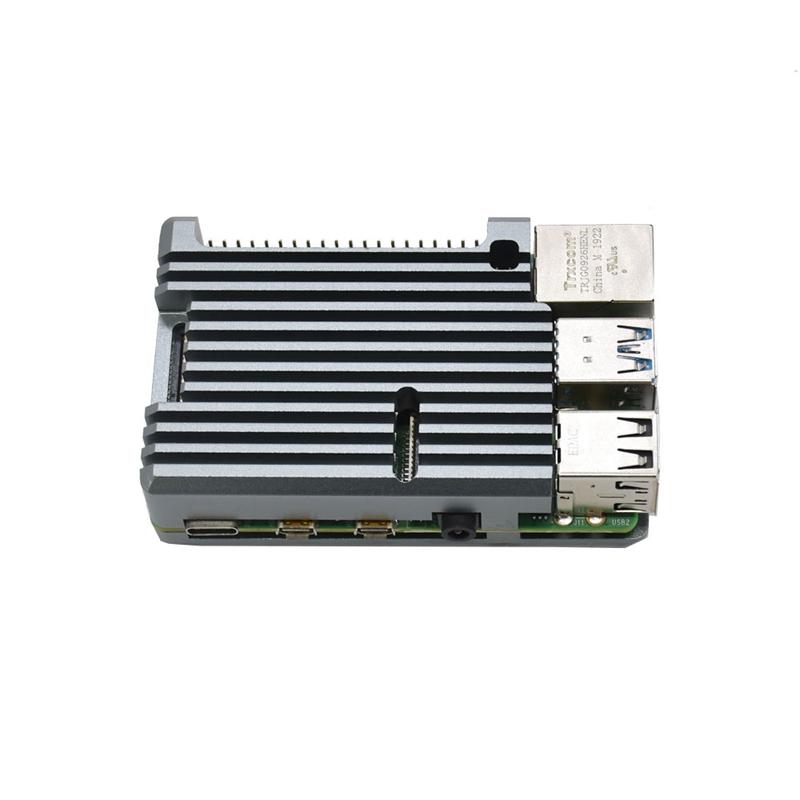 FueR-Raspberry-Pi-4-Modell-B-4-GB-RAM-UnterstueTzung-2-4-5-0-GHz-WIFI-Bluet-W6P6 Indexbild 5