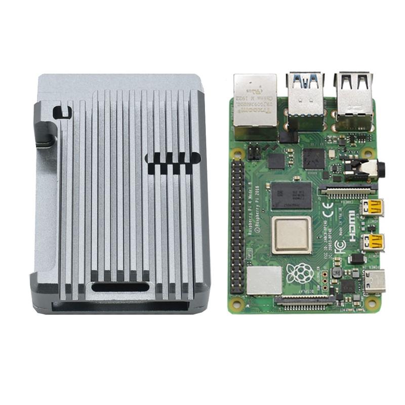 FueR-Raspberry-Pi-4-Modell-B-4-GB-RAM-UnterstueTzung-2-4-5-0-GHz-WIFI-Bluet-W6P6 Indexbild 7