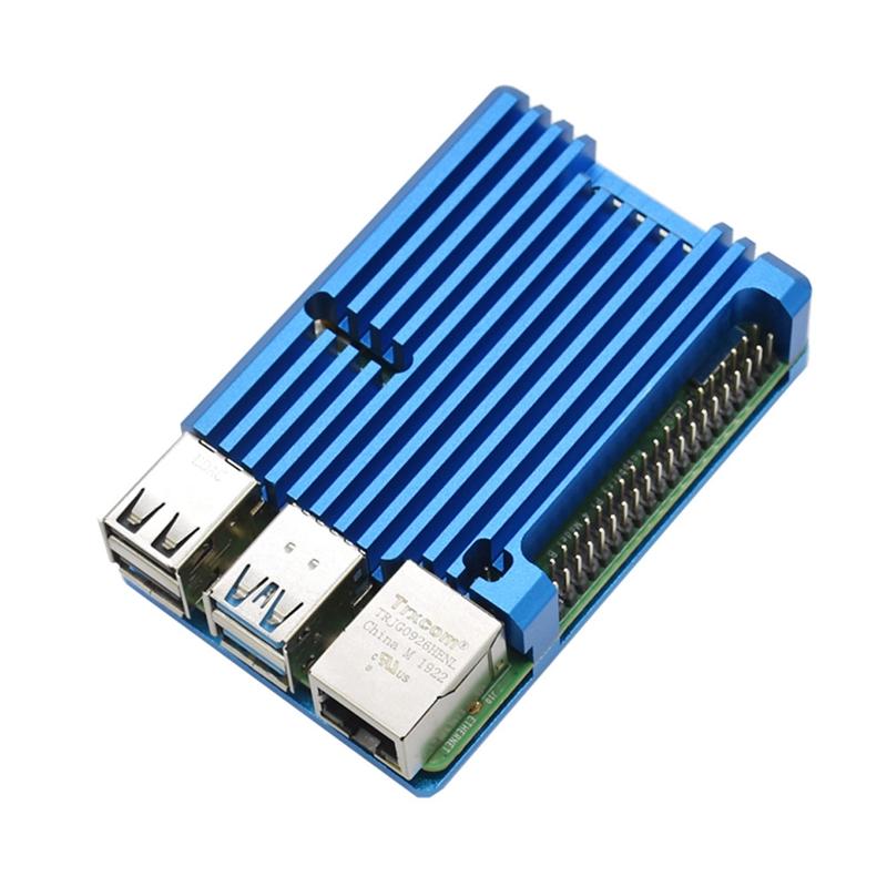 FueR-Raspberry-Pi-4-Modell-B-4-GB-RAM-UnterstueTzung-2-4-5-0-GHz-WIFI-Bluet-W6P6 Indexbild 12