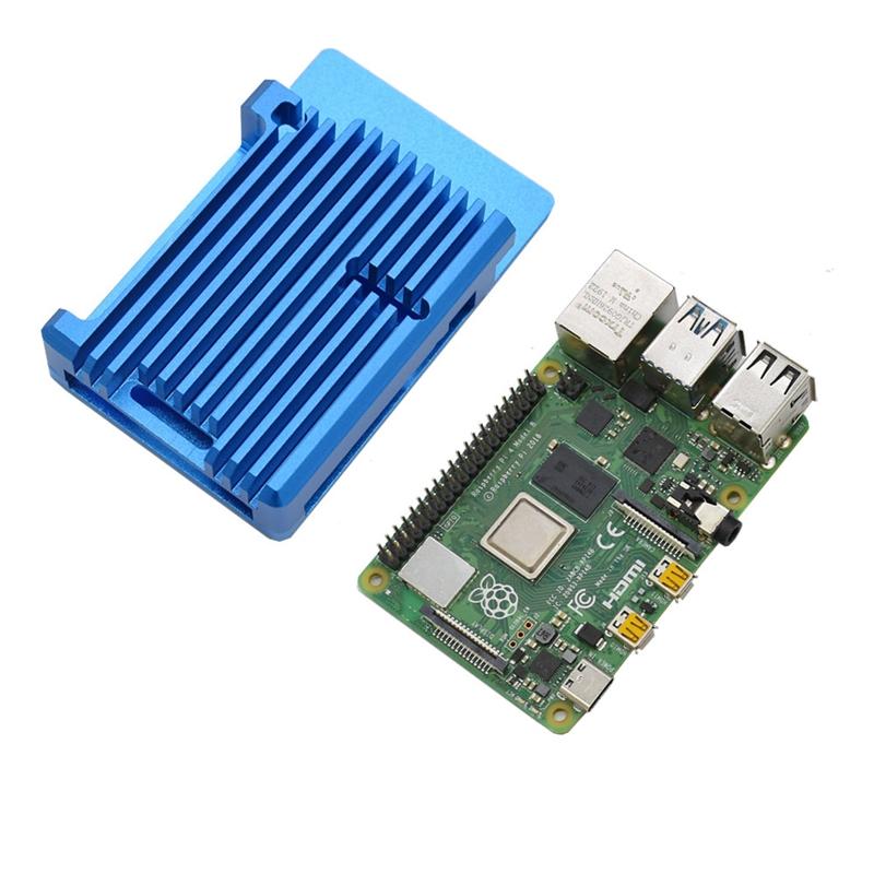 FueR-Raspberry-Pi-4-Modell-B-4-GB-RAM-UnterstueTzung-2-4-5-0-GHz-WIFI-Bluet-W6P6 Indexbild 15