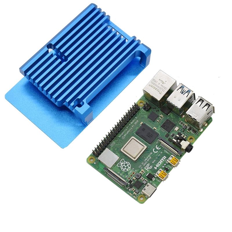FueR-Raspberry-Pi-4-Modell-B-4-GB-RAM-UnterstueTzung-2-4-5-0-GHz-WIFI-Bluet-W6P6 Indexbild 16