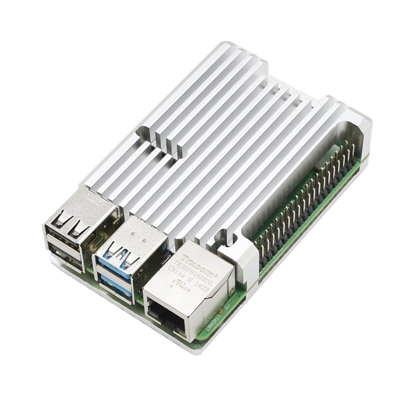 FueR-Raspberry-Pi-4-Modell-B-4-GB-RAM-UnterstueTzung-2-4-5-0-GHz-WIFI-Bluet-W6P6 Indexbild 22