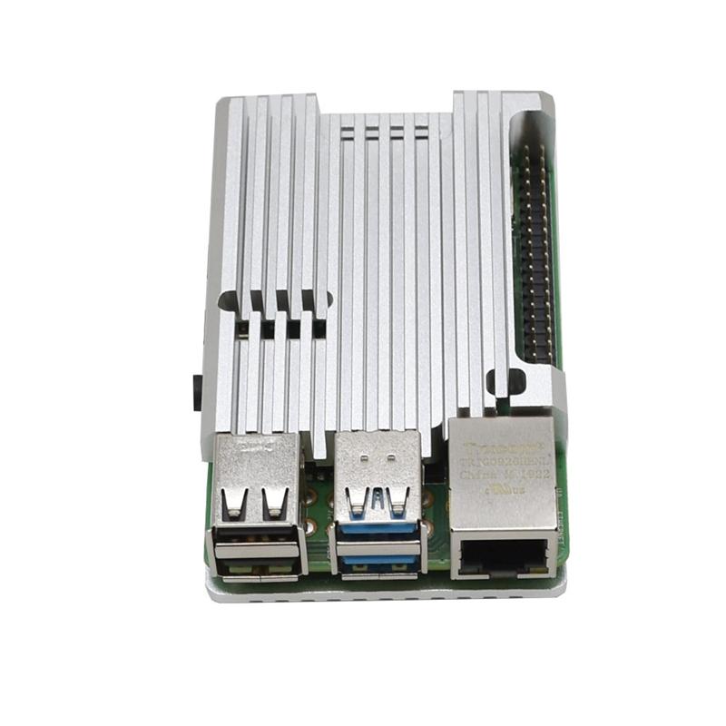FueR-Raspberry-Pi-4-Modell-B-4-GB-RAM-UnterstueTzung-2-4-5-0-GHz-WIFI-Bluet-W6P6 Indexbild 23