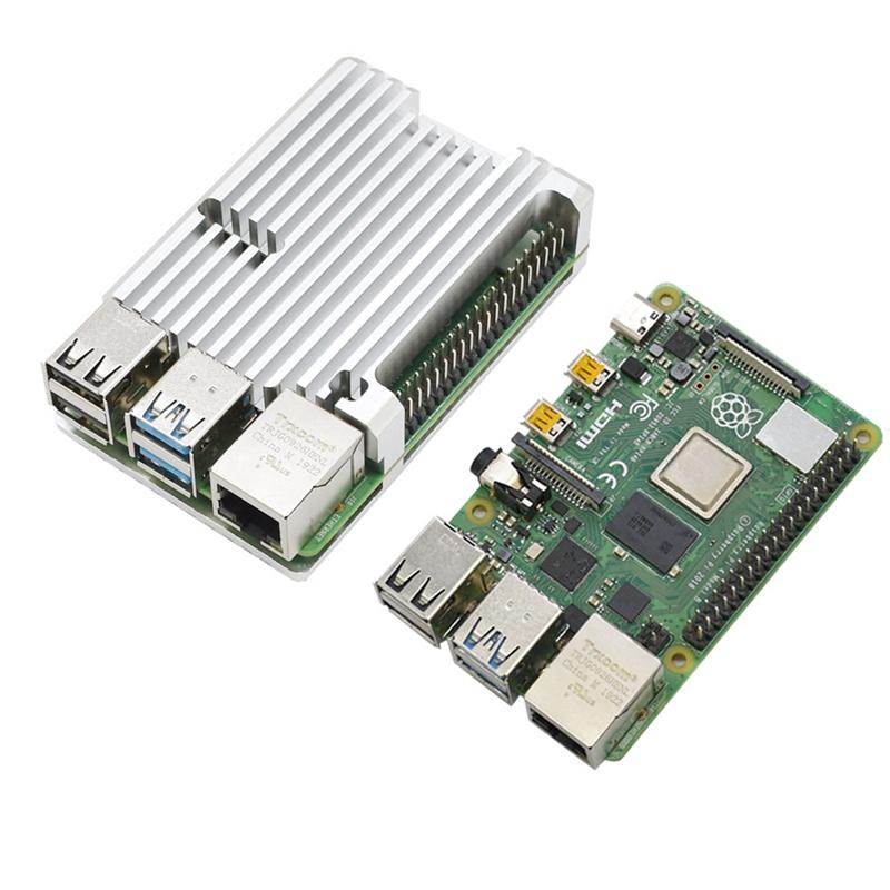 FueR-Raspberry-Pi-4-Modell-B-4-GB-RAM-UnterstueTzung-2-4-5-0-GHz-WIFI-Bluet-W6P6 Indexbild 25