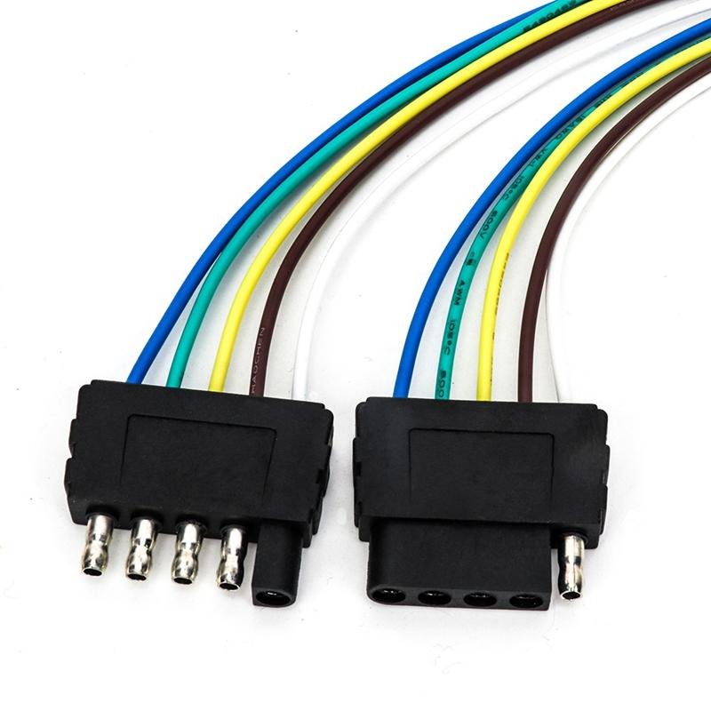 Tirol 5 Pin Male Plug Flat Trailer Wiring Harness
