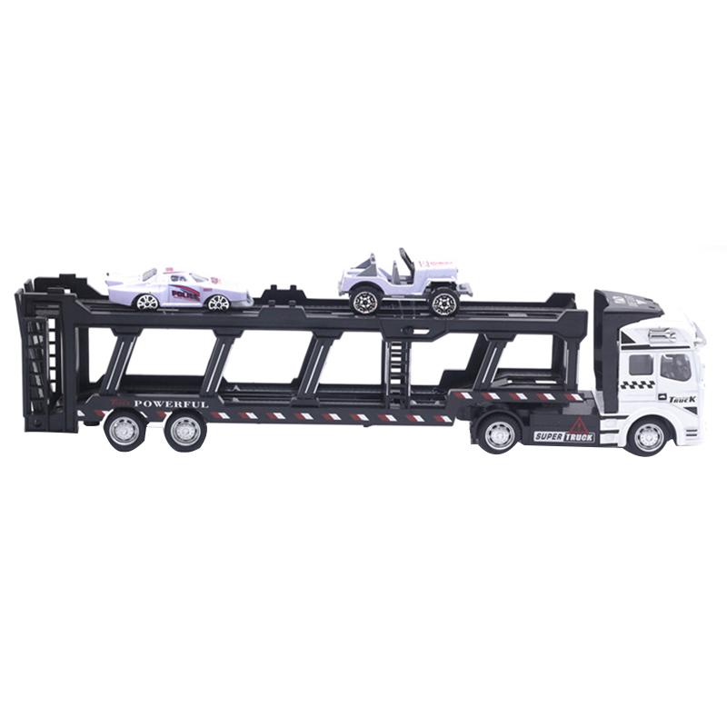 1X-1-48-Neue-Eltern-ZurueCkziehen-Legierung-Super-Lkw-Fahrzeug-Simulation-O6C5 Indexbild 4