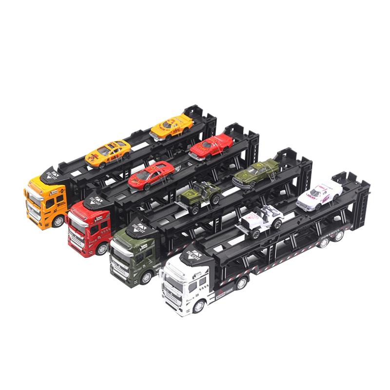 1X-1-48-Neue-Eltern-ZurueCkziehen-Legierung-Super-Lkw-Fahrzeug-Simulation-O6C5 Indexbild 5