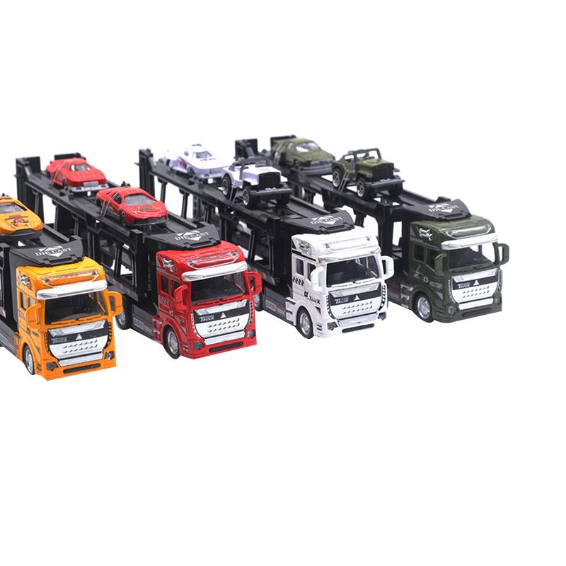 1X-1-48-Neue-Eltern-ZurueCkziehen-Legierung-Super-Lkw-Fahrzeug-Simulation-O6C5 Indexbild 6