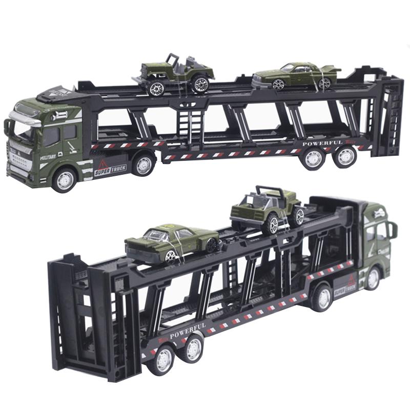 1X-1-48-Neue-Eltern-ZurueCkziehen-Legierung-Super-Lkw-Fahrzeug-Simulation-O6C5 Indexbild 9