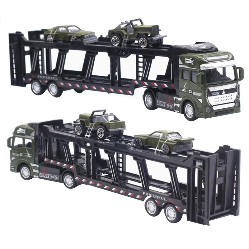 1X-1-48-Neue-Eltern-ZurueCkziehen-Legierung-Super-Lkw-Fahrzeug-Simulation-O6C5 Indexbild 10