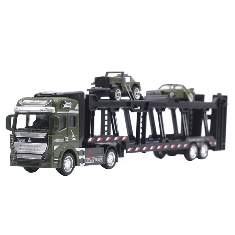 1X-1-48-Neue-Eltern-ZurueCkziehen-Legierung-Super-Lkw-Fahrzeug-Simulation-O6C5 Indexbild 8