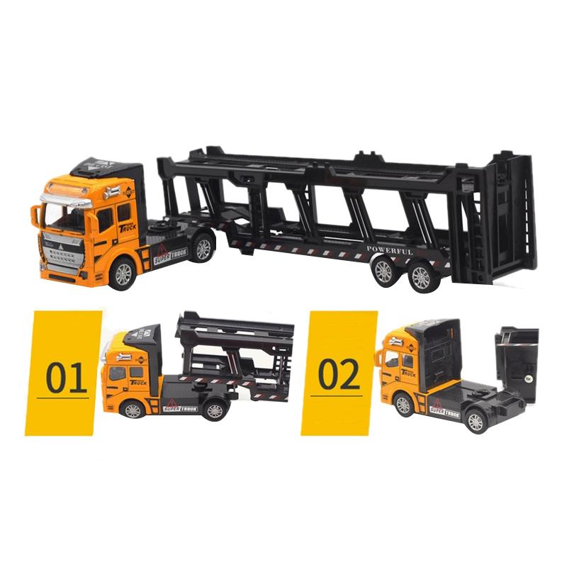 1X-1-48-Neue-Eltern-ZurueCkziehen-Legierung-Super-Lkw-Fahrzeug-Simulation-O6C5 Indexbild 15