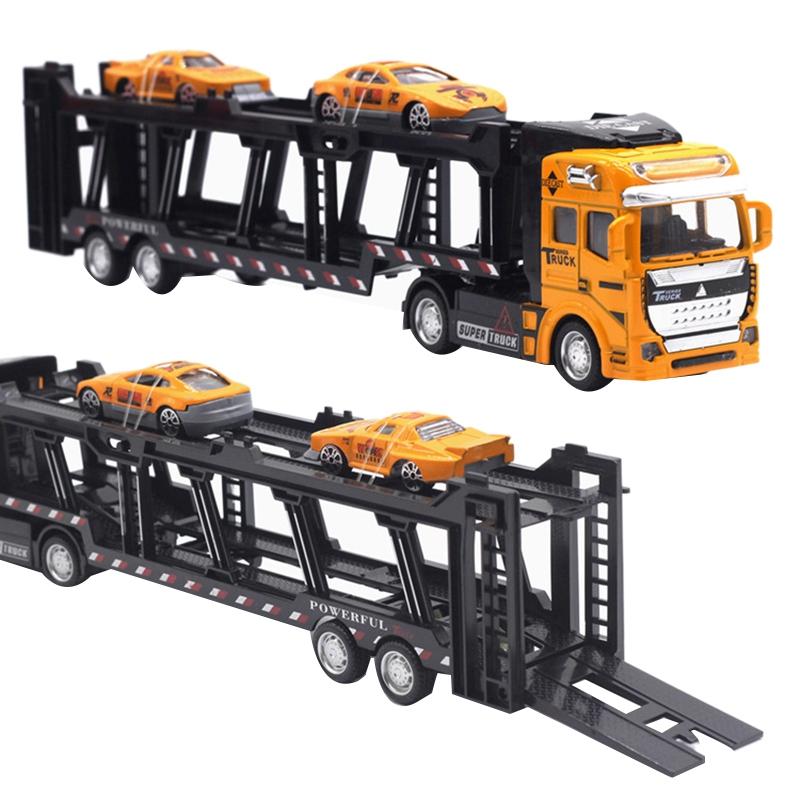 1X-1-48-Neue-Eltern-ZurueCkziehen-Legierung-Super-Lkw-Fahrzeug-Simulation-O6C5 Indexbild 17