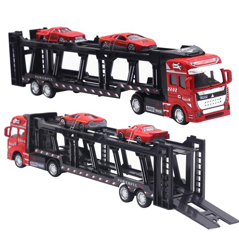 1X-1-48-Neue-Eltern-ZurueCkziehen-Legierung-Super-Lkw-Fahrzeug-Simulation-O6C5 Indexbild 21