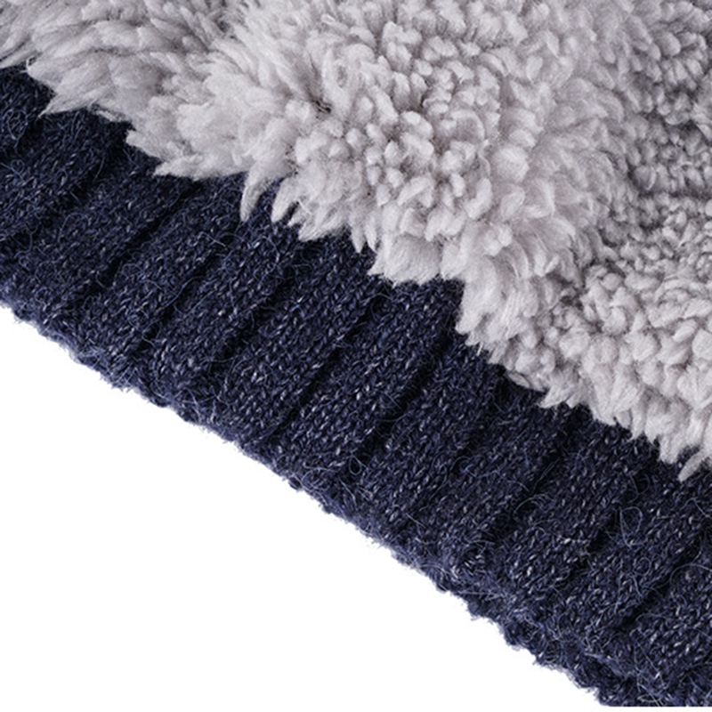 Outdoor-Neck-Warmer-Scarf-Soft-Double-Layer-Knitted-Fleece-Lined-Neck-GaiteJ7S8 thumbnail 8
