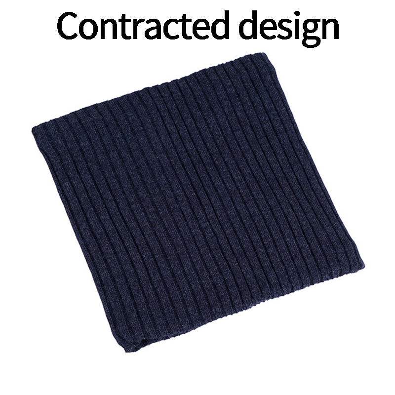 Outdoor-Neck-Warmer-Scarf-Soft-Double-Layer-Knitted-Fleece-Lined-Neck-GaiteJ7S8 thumbnail 40