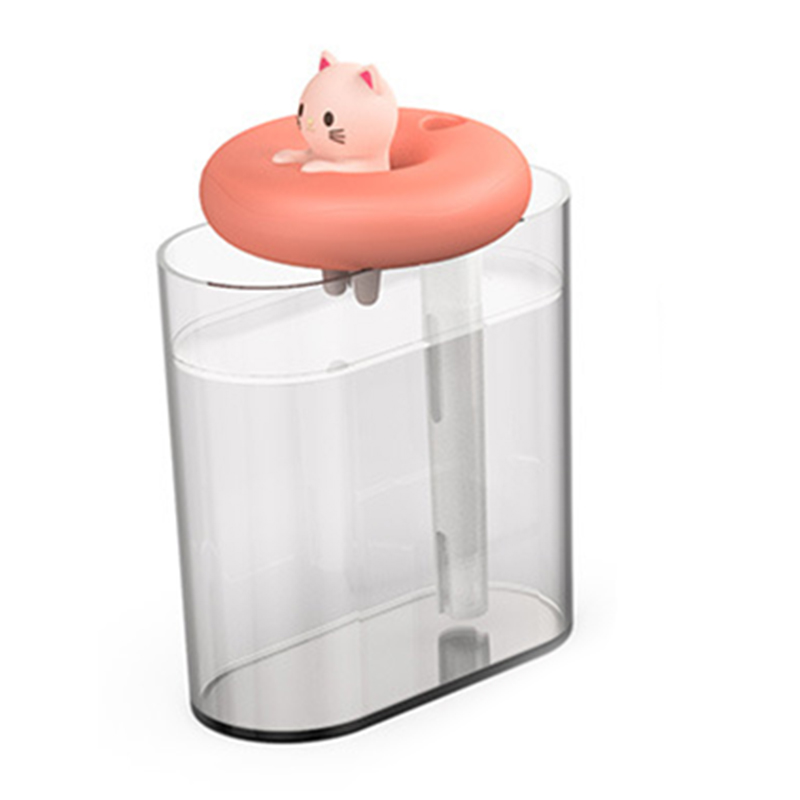 HaushaltsgeraeTe-USB-Luftbefeuchter-Schwimmring-Niedliche-Haustier-Ultrascha-T2V5 Indexbild 4