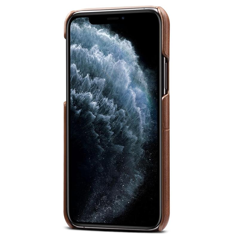 FueR-IPhone-Kartenetui-Brieftaschenetui-Aus-Leder-UltradueNner-Kreditkartene-C3U2 Indexbild 3