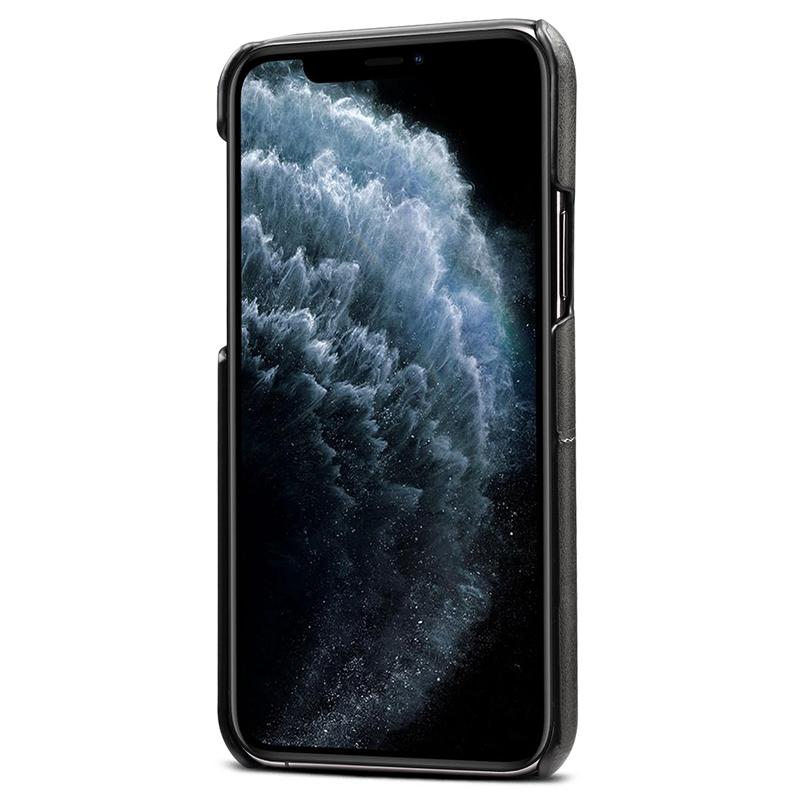 FueR-IPhone-Kartenetui-Brieftaschenetui-Aus-Leder-UltradueNner-Kreditkarteni-B3C5 Indexbild 3