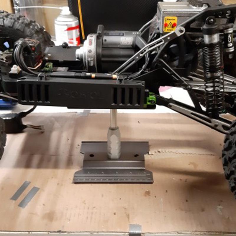 2X-Metall-Aluminium-RC-Car-Workstation-Work-Stand-Reparatur-360-Grad-Drehun-S9W6 Indexbild 6