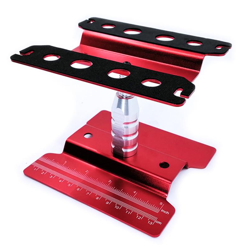 2X-Metall-Aluminium-RC-Car-Workstation-Work-Stand-Reparatur-360-Grad-Drehun-S9W6 Indexbild 19