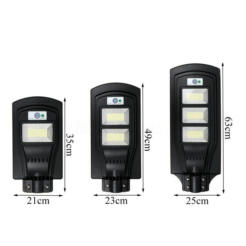 Lampadaire-Solaire-avec-Applique-Murale-pour-Capteur-de-Mouvement-PIR-a-Dis-V6W8 miniature 8